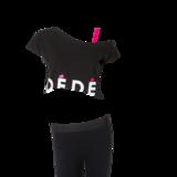 Deomi off-shoulder top volwassenen_