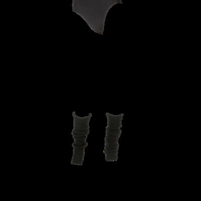 Britt beenwarmers zwart middel (55cm)