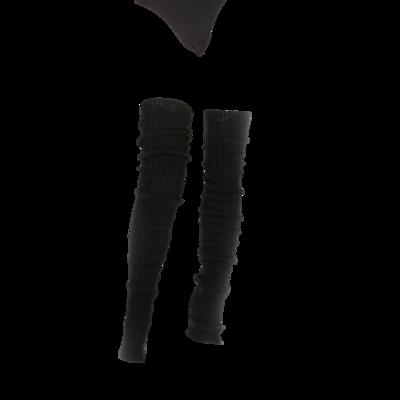 Benthe beenwarmers zwart lang