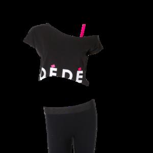 Deomi off-shoulder top volwassenen